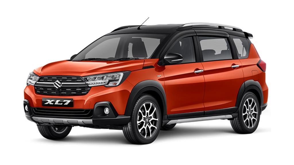 Suzuki XL-7 ที่เพิ่งเปิดตัวเมื่อปลายเดือนมิถุนายนถือเป็นไฮไลท์เด่นของค่ายนี้