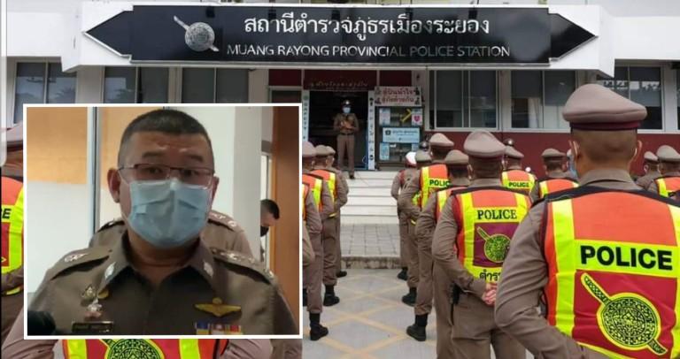 สั่งกักตัว 6 ตำรวจ สภ.เมืองระยอง ร่วมตรวจคัดกรองทหารอียิปต์ติดโควิด-19