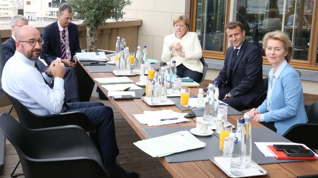 In Clip: ผู้นำชาติ EU รวมตัวประชุมแพ็กเกจฟื้นฟูเศรษฐกิจวิกฤตโควิด-19 วันที่ 3