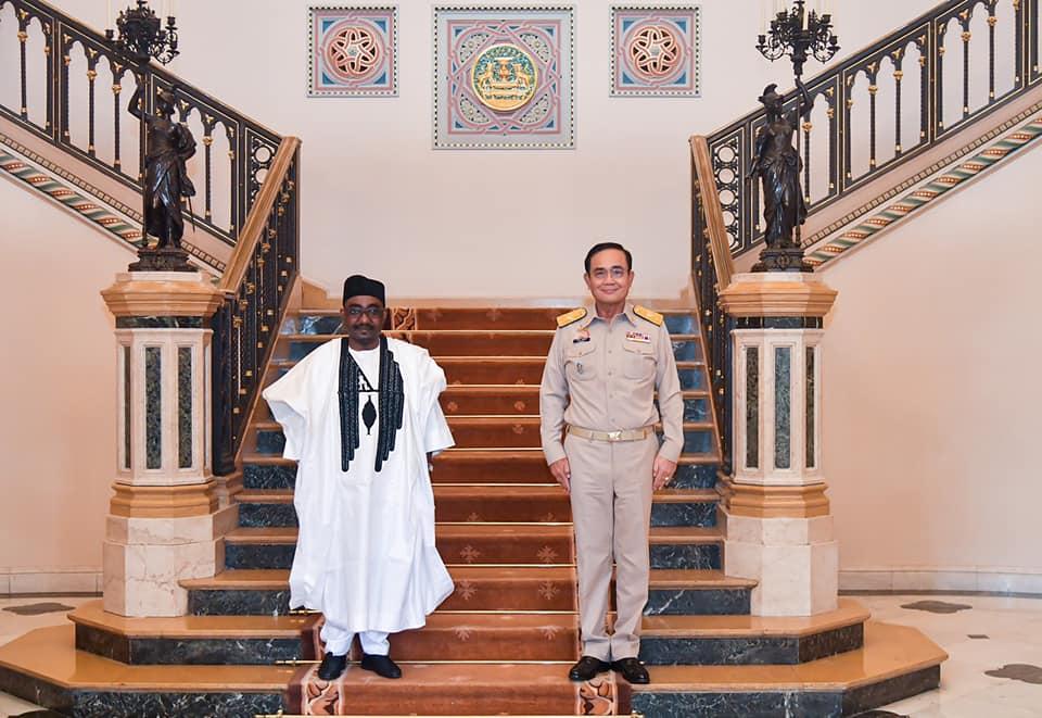 นายกฯ พบ ทูตไนจีเรีย รับคำชมแก้โควิด พร้อมร่วมมือด้านสาธารณสุข