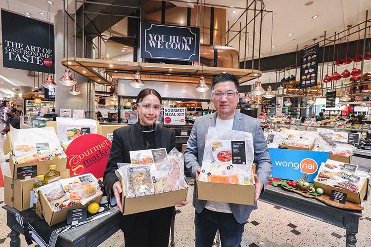 """Gourmet Market จับมือ Wongnai  เปิดตัว  """"Gourmet Meal Kit""""  ชุดเมนูพร้อมปรุงคุณภาพระดับพรีเมี่ยม พร้อมส่งถึงบ้าน"""