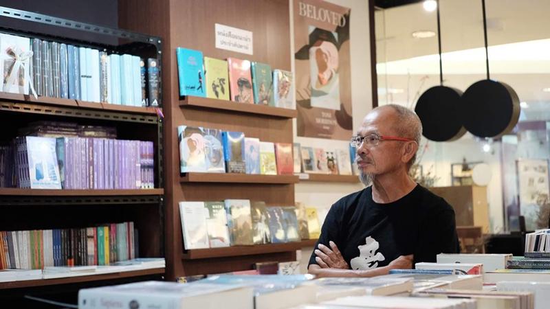 """[จรัญ หอมเทียนทอง  Project Director  งาน """"ABC Book Fest 2020 เทศกาลหนังสือเริ่มต้น"""" และ อดีตนายกสมาคมผู้จัดพิมพ์และผู้จำหน่ายหนังสือแห่งประเทศไทย]"""