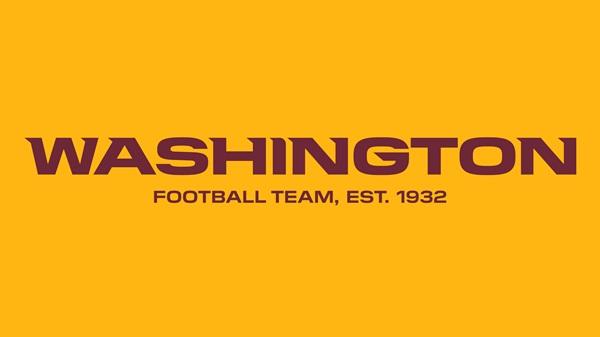 """""""เรดสกินส์"""" เปลี่ยนชื่อชั่วคราว """"วอชิงตัน ฟุตบอล ทีม"""" ลุยศึก NFL 2020"""