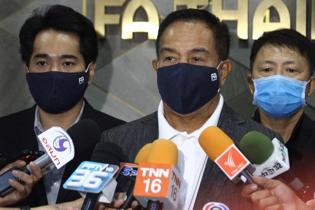 """""""สมยศ"""" ไม่ขวาง """"ทรูวิชั่นส์"""" ถ่ายบอลไทยถึง 25 ตุลาคม วอนรัฐ-เอกชน ช่วยเหลือ"""