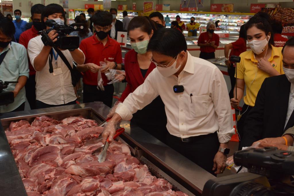 พณ.สั่งลดราคาเนื้อหมู ช่วยผู้บริโภคช่วงหมูแพง