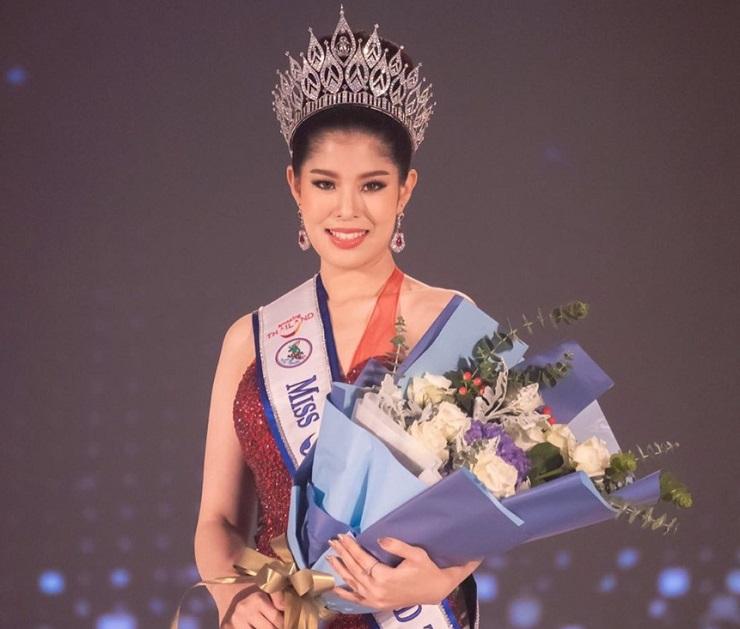 """""""น้องแพรว"""" ครองมงกุฏ Miss Tourism World Thailand 2020"""
