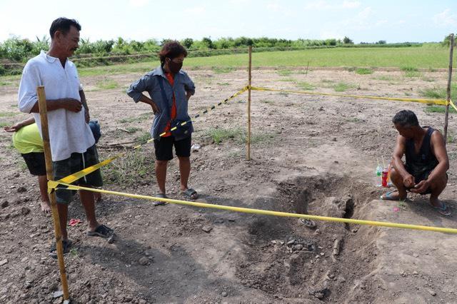 พบอีกแล้วโครงกระดูกมนุษย์ ก่อนประวัติศาสตร์ ที่อ่างทอง
