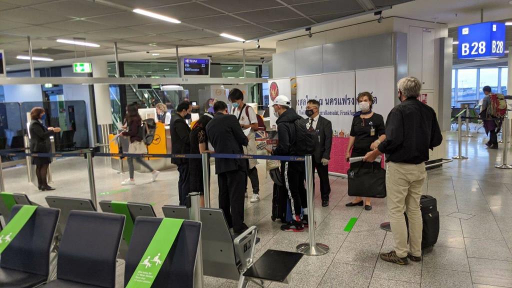 THAI รับคนไทยจากเยอรมนี และประเทศแถบสแกนดิเนเวีย กลับบ้าน