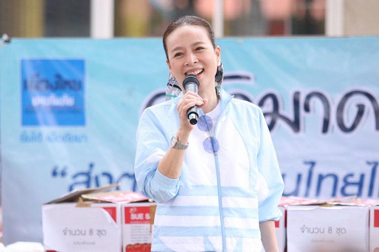 """""""เมืองไทยประกันภัย ยิ้มได้…เมื่อภัยมา"""" เปิดครัวมาดามอีกครั้ง บรรเทาทุกข์ชาวคลองเตย จากเหตุเพลิงไหม้"""