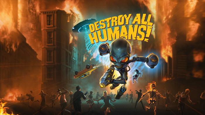 """เอเลี่ยนโหดล้างบางมนุษย์ """"Destroy All Humans!"""" วางจำหน่ายแล้วบนคอนโซลและพีซี"""