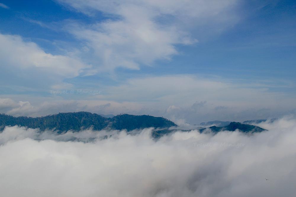 ทะเลหมอก 360 องศาบนยอดเขาฆูนุงซีลีปัต