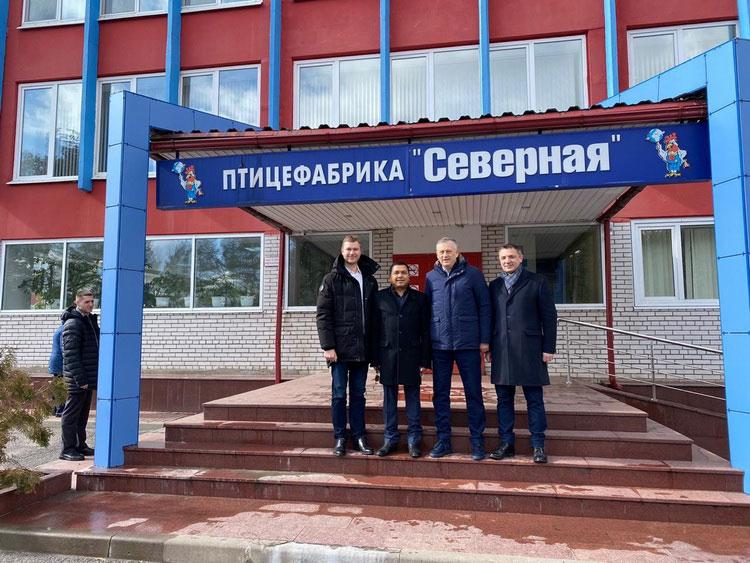เอกอัครราชทูตไทย ชู CPF Russia ร่วมสร้างความมั่นคงทางอาหารช่วยชาวรัสเซียฝ่าวิกฤติโควิด-19