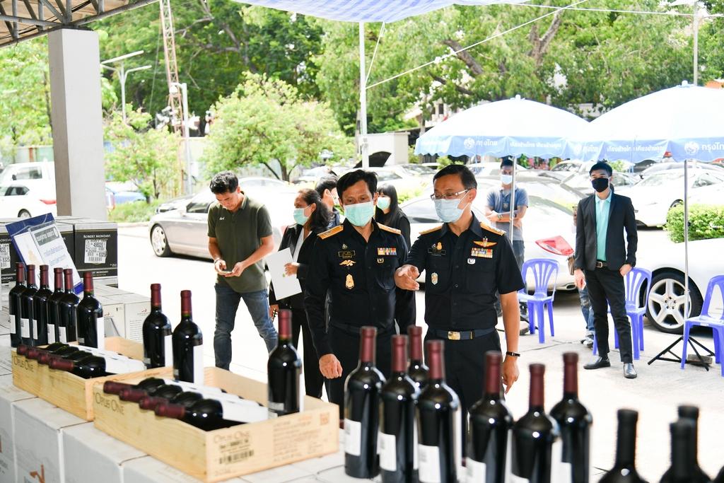 กรมศุลฯจับไวน์หนีภาษีมูลค่ากว่า 18 ล้านบาท