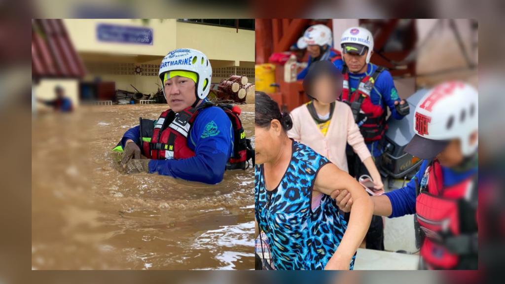 ฝันดี-ฝันเด่น โพสต์ภูมิใจ ได้ช่วยเหลือผู้ประสบภัยน้ำท่วมวังเหนือ จ.ลำปาง