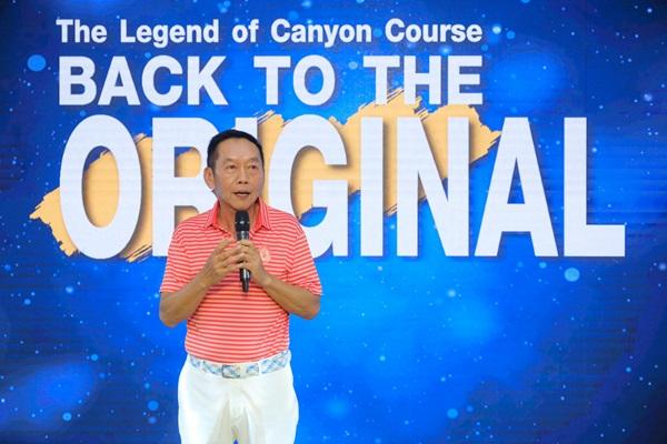 """สนามกอล์ฟ Blue Conyon Country Club จัดงาน """" The Legend of Blue Canyon Back to the Original """""""