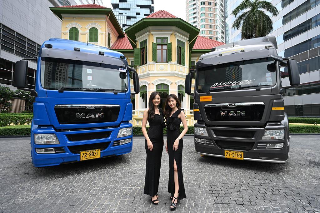 """""""เอ็ม เอ เอ็น"""" เปิดตัวรถ บรรทุก TGS 3 จากเยอรมนี ลุยตลาดรถไทย"""