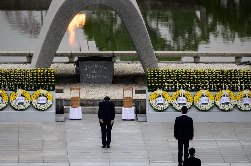ญี่ปุ่นจัดพิธีรำลึกครบรอบ 75 ปีระเบิดปรมาณูถล่ม 'ฮิโรชิมะ'