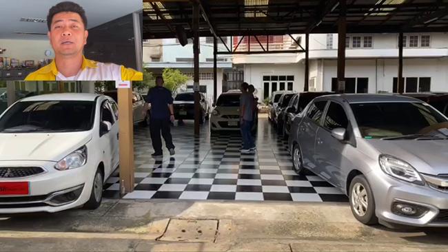 โจรเฒ่าแสบหลอกเซลลองรถฮอนด้าซิตี้ในเต้นท์ เหยื่อเผลอเชิดรถหนี ตร.เร่งตามจับ