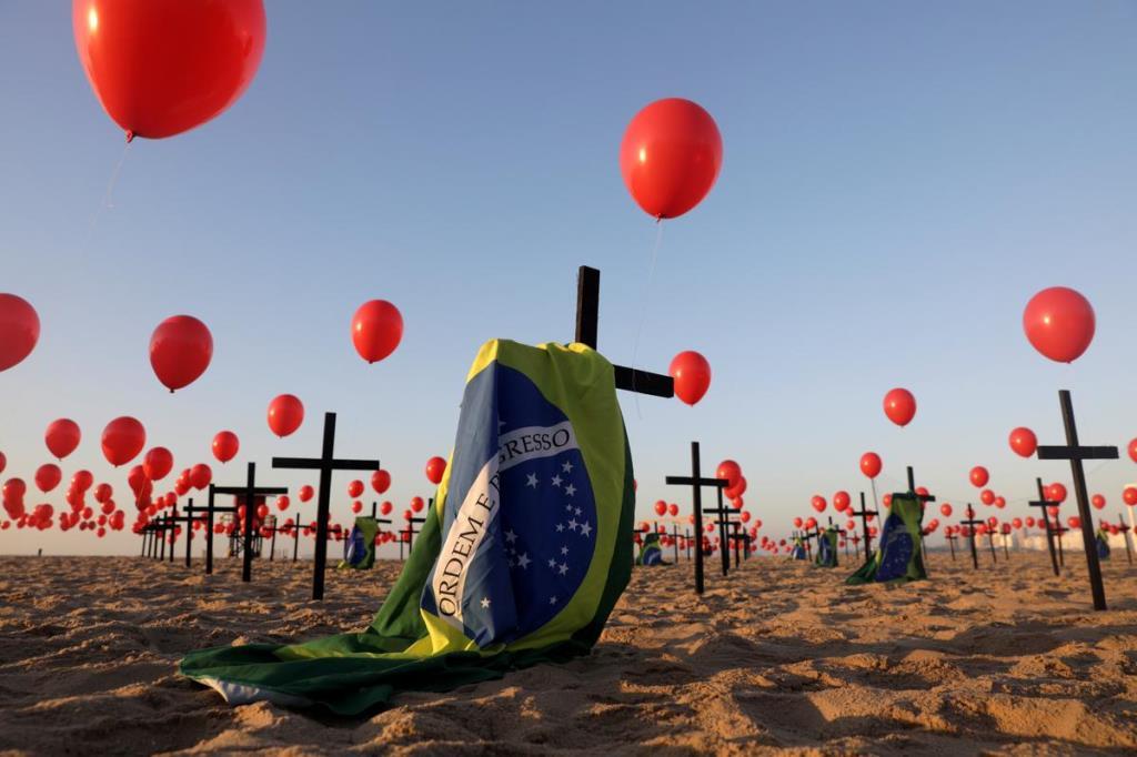 ยอดตายโควิดบราซิลทะลุ 100,000 และไม่มีทีท่าจะหยุด
