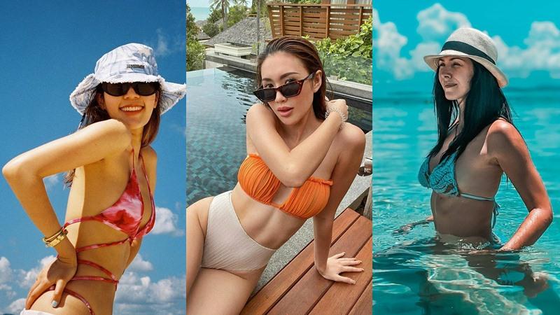 ทะเลเดือด!! ไฮโซประชันชุดว่ายน้ำ เที่ยวทะเลไทย