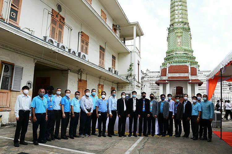 """MEA บวงสรวง อาคาร 1 การไฟฟ้านครหลวงเขตวัดเลียบ เตรียมบูรณะจัดทำ """"พิพิธภัณฑ์การไฟฟ้าไทย"""""""