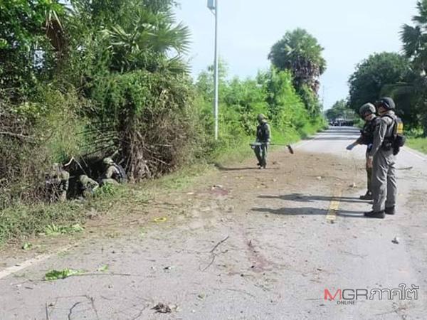 แม่ทัพ 4 สั่งรุกเต็มสูบล่าคนร้ายลอบวางระเบิดชุดคุ้มครองครูในปัตตานี-นราธิวาส