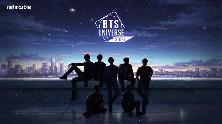 """เน็ตมาร์เบิลเผยโฉมเกม """"BTS Universe Story"""" จากวง K-POP ชื่อดัง"""