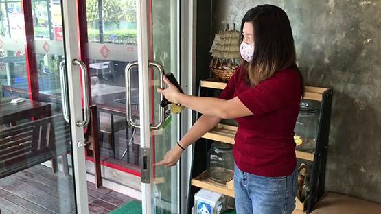 เจ้าของร้านกาแฟวอนโจรงัดร้านอย่ามาซ้ำเติมช่วงโควิค