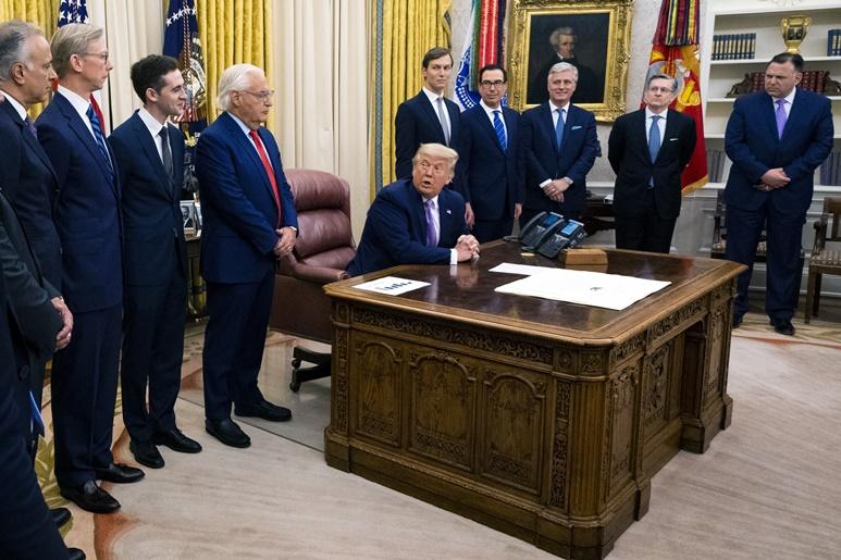"""In Clip: """"อิสราเอล"""" ตกลงฟื้นฟูสัมพันธ์การทูตครั้งประวัติศาสตร์กับสหรัฐฯอาหรับเอมิเรตส์ ใต้เงื่อนไขทรัมป์ """"เนทันยาฮู"""" ต้องไม่ผนวกเวสต์แบงก์"""
