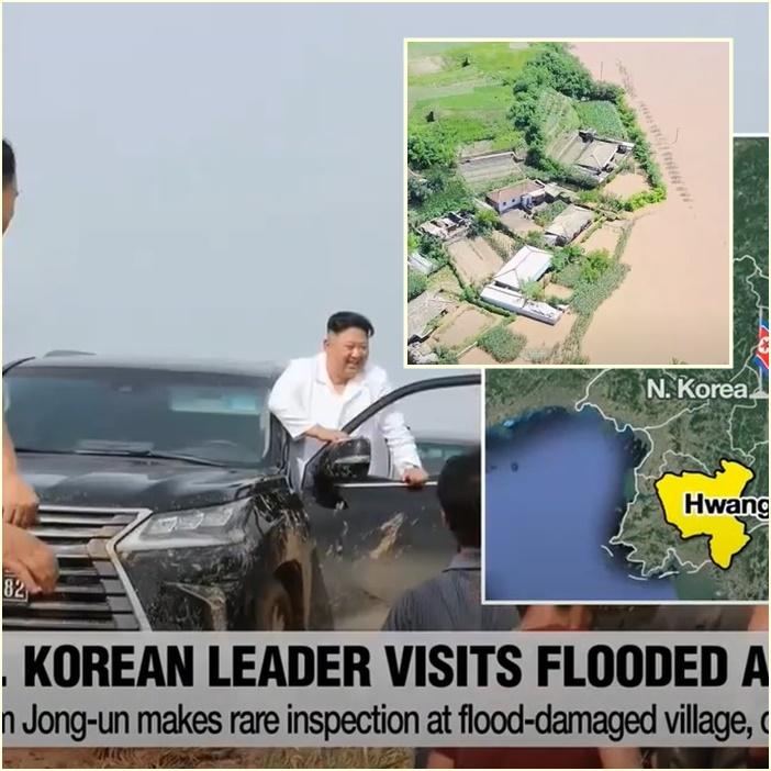 """In Pics&Clip: """"คิม จองอึน"""" สั่งยกเลิกล็อกดาวน์แกซอง ท่ามกลางเกาหลีเหนือเผชิญวิกฤตฝนตกหนัก-น้ำท่วม"""