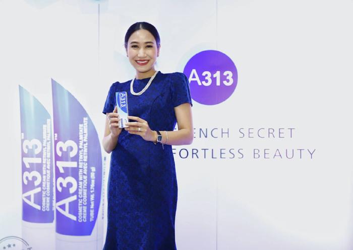 A313 พร้อมชิงส่วนแบ่งตลาดเวชสำอางในไทย งัดกลยุทธ์จำหน่ายผ่าน บิวตี้สโตร์ ทั่วประเทศ