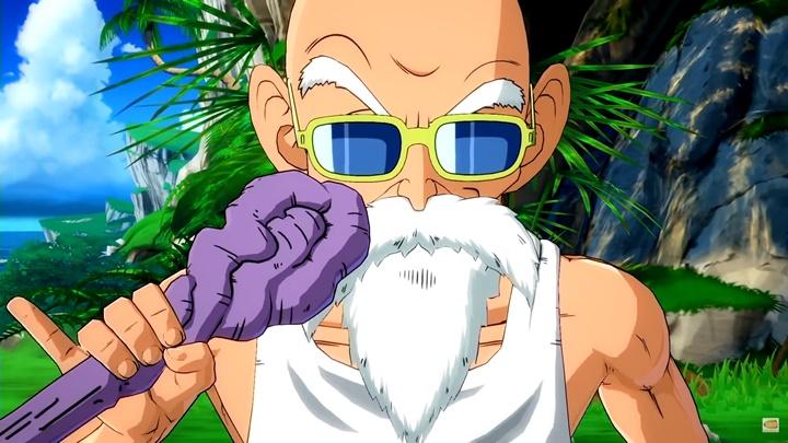 """Dragon Ball FighterZ เปิดตัวนักสู้ใหม่ """"ผู้เฒ่าเต่า"""""""