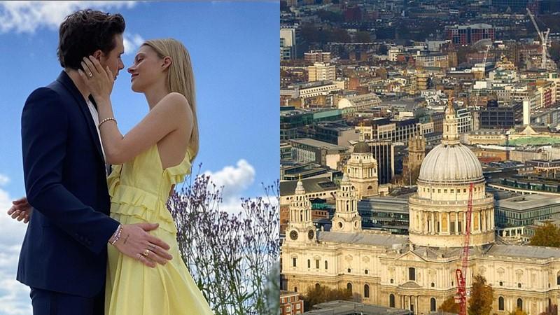งานแต่งแบบ เบิ้มๆ บรูคลิน เบ็คแฮม เตรียมจัดงานแต่งในมหาวิหาร เซนต์พอล