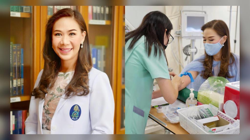 ชื่นชม! หมอหญิงร่วมเป็นอาสาสมัครในโครงการวิจัยโควิด-19 เพื่อเตรียมรับมือกับการระบาดระลอกใหม่