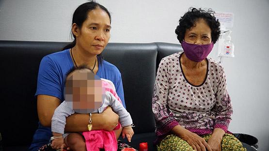 สาวอุ้มลูกน้อยร้องสื่อถูกหลอกให้เปิดบัญชีสุดท้ายตำรวจออกหมายจับ