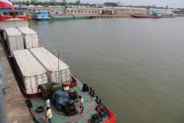 ศุลกากรพัฒนาด่านเชียงแสน-ดันจีนเปิดท่าเรือกวนเหล่ย หนุนการค้าผ่านน้ำโขง
