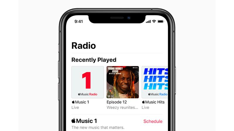 Apple รีแบรนด์สถานีวิทยุบน Apple Music