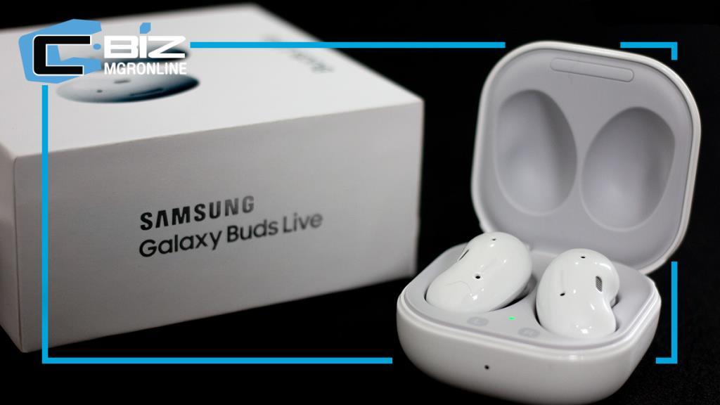 Review : Samsung Galaxy Buds Live หูฟังไร้สายดีไซน์แหวกแนว