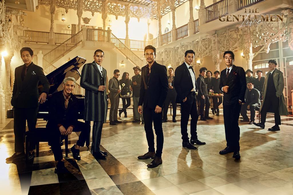 """""""ตูน,แบงค์,ปั๊บ,ก้อง,โดม,ตู่"""" พร้อมถ่ายทอดความละมุน ผ่านบทเพลงรักจากสุภาพบุรุษสายร็อก ในคอนเสิร์ต """"The Gentlemen Live"""""""