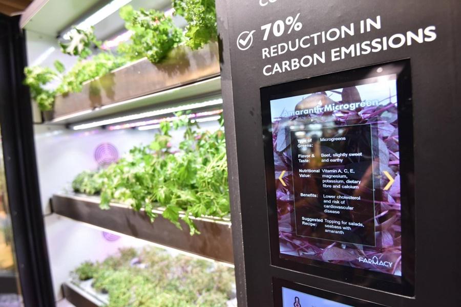 """เปิดตัวครั้งแรกในไทย!! """"Smart Mobile Farm"""" นวัตกรรมตู้ปลูกผักปลอดสาร ณ เซ็นทรัล ฟู้ด ฮอลล์ สาขาชิดลม"""
