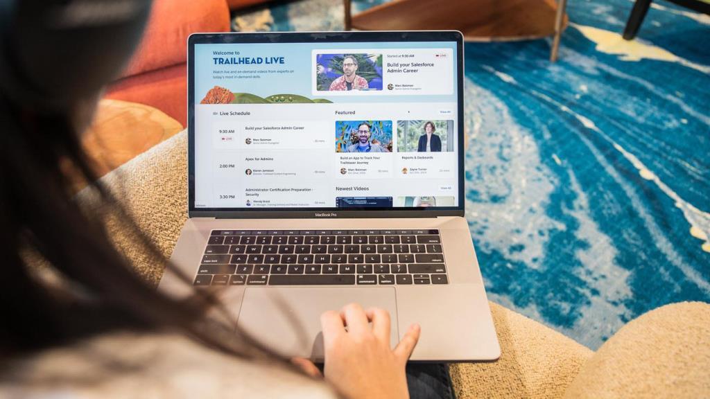 มุมมอง Salesforce ท่เข้าไปร่วมช่วยองค์กรธุรกิจปรับตัวรับ New Normal