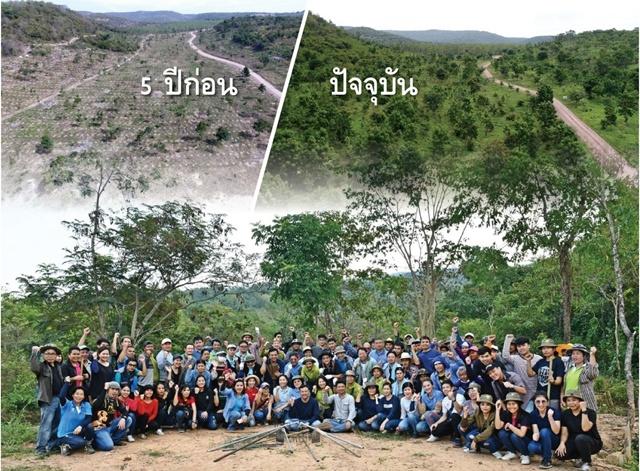 """""""ซีพีเอฟรักษ์นิเวศ ลุ่มน้ำป่าสัก เขาพระยาเดินธง""""  โครงการอนุรักษ์และฟื้นฟูป่า โดย 3 ประสาน ภาครัฐ เอกชนและชุมชน  ปลูกจิตสำนึกจิตอาสาร่วมดูแลสิ่งแวดล้อม"""
