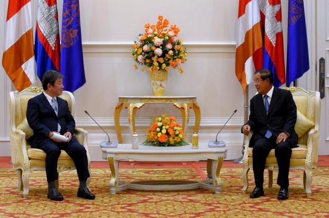 กัมพูชา-ญี่ปุ่น เห็นพ้องฟื้นการเดินทางระหว่างกันกระตุ้นการค้า-การลงทุน