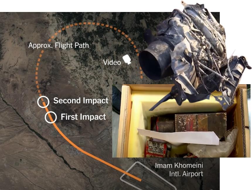 In Clip: อิหร่านแถลงผลกล่องดำ เครื่องบินยูเครนโดนยิงมิสไซล์ 2 ลูกโจมตีแค่เสี้ยว 25 วิ.
