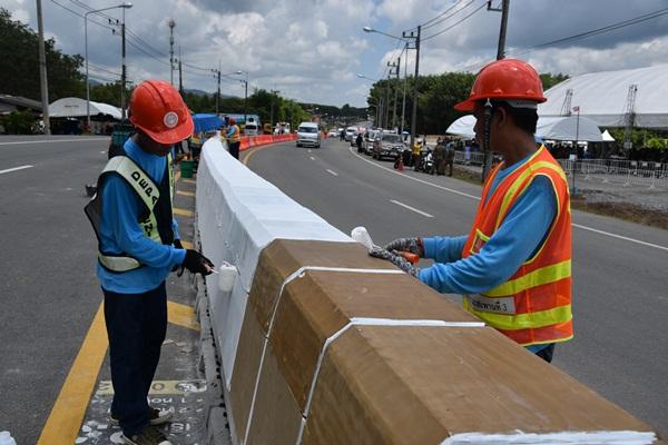 เลือกจันทบุรี นำร่องโครงการส่งเสริมการใช้ยางพาราเพิ่มความปลอดภัยทางถนน