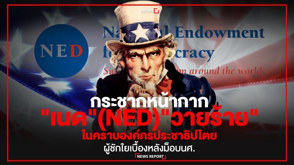 """กระชากหน้ากาก """"เนด"""" (NED) """"วายร้าย"""" ในคราบองค์กรประชาธิปไตย"""