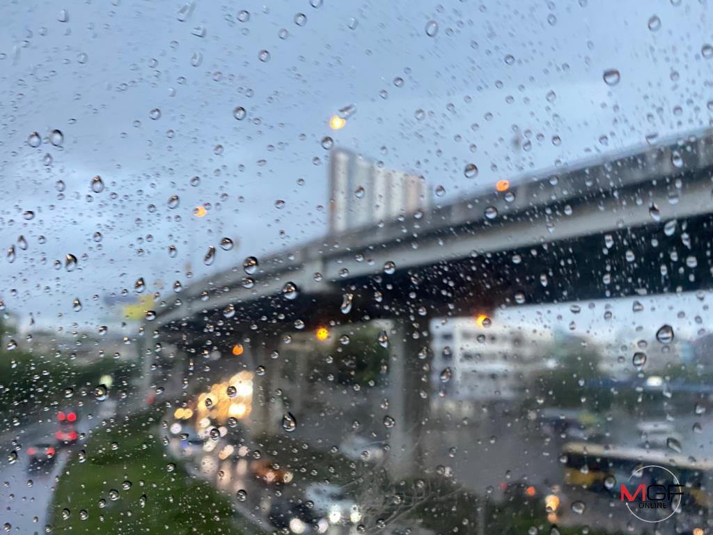ไทยตอนบนฝนน้อยลง เหนือ-ใต้ ฝนฟ้าคะนองร้อยละ 30 กทม.-ปริมณฑล มีเมฆบางส่วน