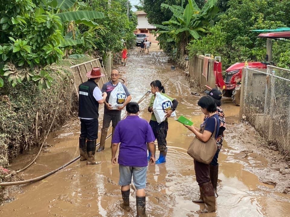 ธ.ก.ส. ระดมมาตรการช่วยเหลือผู้ประสบภัยธรรมชาติ