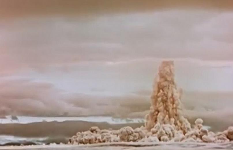ครั้งแรก!! รัสเซียปล่อยคลิปทดลอง 'ซาร์ บอมบา' ระเบิดนิวเคลียร์ลูกใหญ่ที่สุดในประวัติศาสตร์ (ชมคลิป)