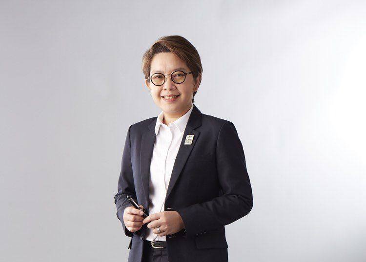 นางสาวนารถนารี รัฐปัตย์ กรรมการผู้จัดการ ธนาคารพัฒนาวิสาหกิจขนาดกลางและขนาดย่อมแห่งประเทศไทย (ธพว.) หรือ SME D Bank